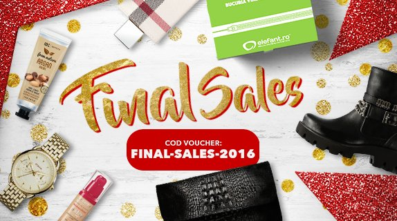 FINAL SALES 2016 - Voucher 10% extra reducere