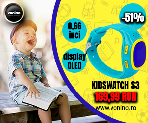 Back to school, KidsWatch S3 cu 51% reducere!