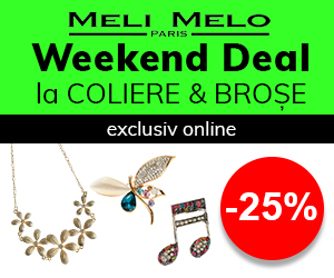 Weekend Deal: Coliere & Broșe -25%
