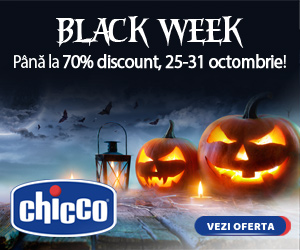 Black Week www.chicco.ro 25-31 octombrie