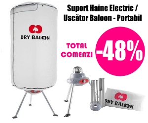 Suport Haine Electric Portabil | Uscator Baloon