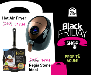 Reduceri in Black Friday Shop la AloShop