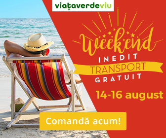 Weekend Inedit cu TRANSPORT GRATUIT in magazinul VVV | 14-16 August 2020