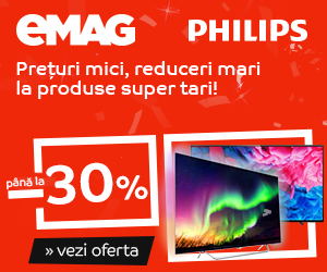 Campanie After BF: Crazy Sale - Televizoare Philips, 17-19 noiembrie 2018