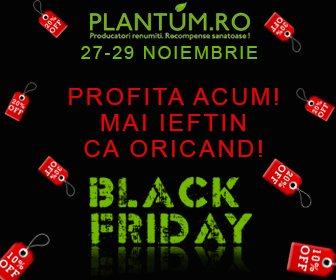 Black Friday la Plantum!