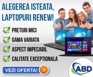 Laptopuri renew - Nou in Stoc