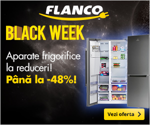 Black Week la Flanco! Aparate frigorifice la reduceri de pana la 48%