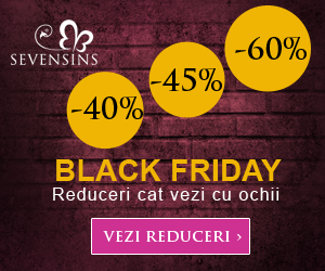 55% reducere - Black Friday 2017!